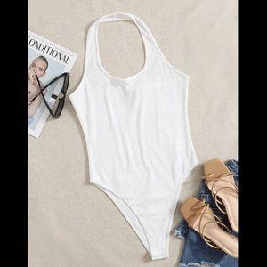 Shein// halter bodysuit size xs